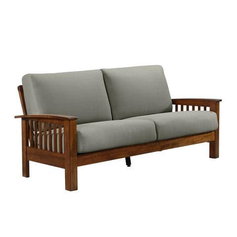 Carson Carrington Klaipeda Mission Style Sofa