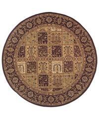 Safavieh Handmade Classic Mashad Multicolor Wool Rug (8' Round)