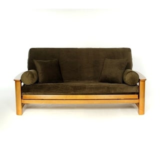 Royal Heritage Covers OLIVE TWIST Microfiber Full Size Futon Cover - full 54x75