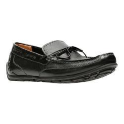 Men's Clarks Benero Edge Loafer Black Full Grain Leather
