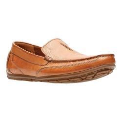 Men's Clarks Benero Race Loafer Tan Leather