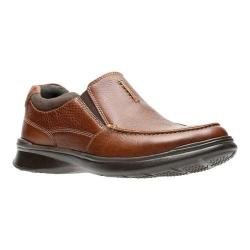 Men's Clarks Cotrell Free Moc Toe Shoe Tobacco Full Grain Leather