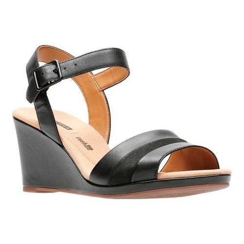 Clarks Lafley Aletha Wedge Sandal (Women's) iqtcq