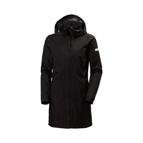 Helly Hansen Women's Aden Long Rain Jacket Black