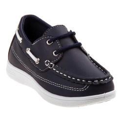 Boys' Josmo 17055M Boat Shoe Navy