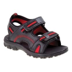 Boys' Josmo 79160M Sport Sandal Black/Red