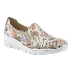Women's Rieker-Antistress Doris A5 Slip-On Sneaker White/Multi Synthetic
