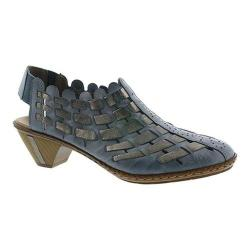 Rieker anti stress woven sling back shoes