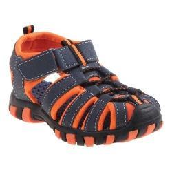Boys' Rugged Bear RB01013M Sport Sandal Blue/Orange PU (5 options available)
