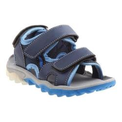 Boys' Rugged Bear RB79400M Active Sandal Blue PU