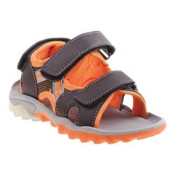 Boys' Rugged Bear RB79400M Active Sandal Brown PU
