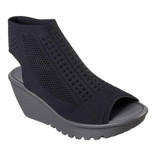 Skechers Parallel Tight Knit Wedge Sandal (Women's) PEQtN