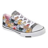 Women's Skechers BOBS Utopia Clever Cats Sneaker Multi