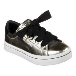 Girls' Skechers Hi-Lites Metallics Sneaker Gold