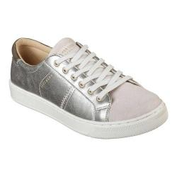 Women's Skechers Prima Shimmer Side Sneaker Light Gray/Silver