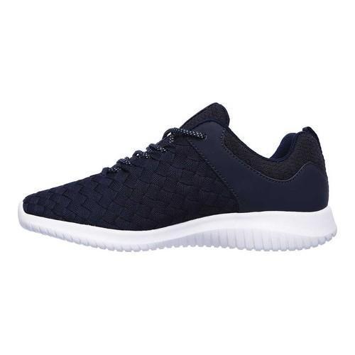 Women's Skechers Ultra Flex Weave Away Sneaker Navy | Shopping The Best Deals on Athletic