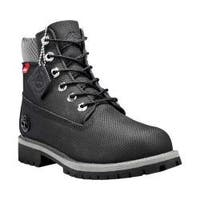 Children's Timberland 6in Premium Waterproof Boot Junior Black Helcor® Leather