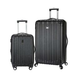 Travelers Club Madison 2-Piece Expandable Spinner Luggage Set