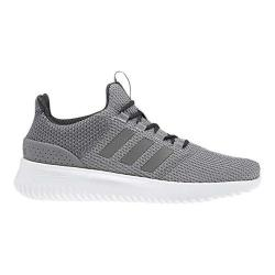 Men's adidas NEO Cloudfoam Ultimate Running Shoe Grey Three F17/Grey Four F17/Carbon S18