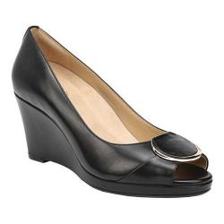 Women's Naturalizer Ollie Wedge Pump Black Leather (More options available)
