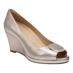 Women's Naturalizer Ollie Wedge Pump Champagne Leather (More options available)