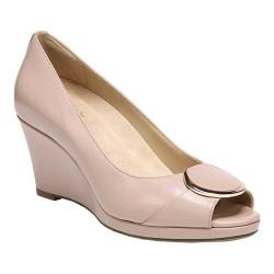 Women's Naturalizer Ollie Wedge Pump Mauve Leather (More options available)