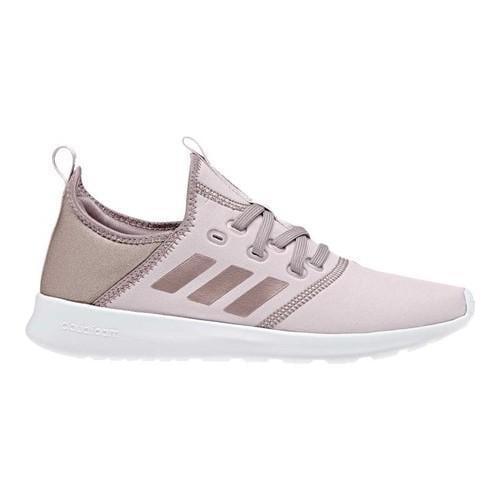 frauen ist adidas cloudfoam reine sneaker eis lila f16 / dampf grau traf f16 / dampf grauen f16