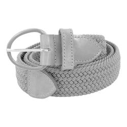 Men's Florsheim Braided Elastic Stretch Belt Gray Braided Elastic (4 options available)