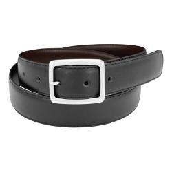 Men's Florsheim Reversible Belt Black/Brown Action Leather