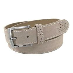 Men's Florsheim Suede Belt Sand Suede Leather (More options available)