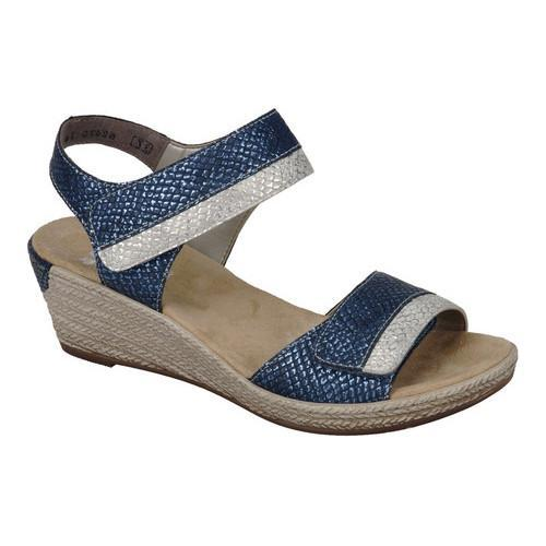 0c1cb3e68f2 Shop Women s Rieker-Antistress Fanni 70 Ankle Strap Sandal Royal Ice  Synthetic - Free Shipping Today - Overstock.com - 20737874