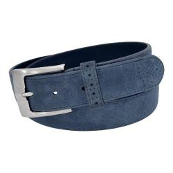 Men's Stacy Adams 192 Suede Belt Blue (More options available)