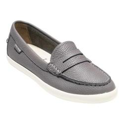 Women's Cole Haan Pinch Weekender Loafer Grey Leather/White