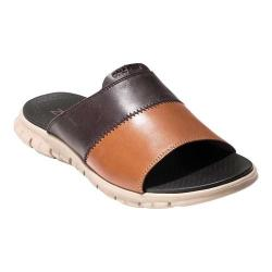 4a36b33149b9 Men s Cole Haan ZEROGRAND Slide Dark Roast British Tan Leather Cobblestone
