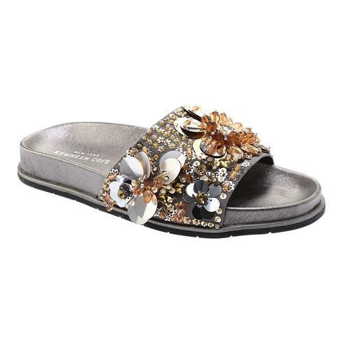 Kenneth Cole New York Xenia Pool Slide Sandal(Women's) -Pink/Multi Sequin Synthetic Cheap Amazon 1iFY35Vv