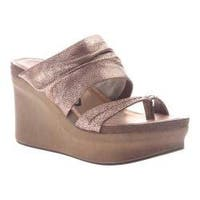 Women's OTBT Tailgate Heeled Sandal Copper Leather