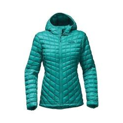Women's The North Face Thermoball Hoodie Pool Green