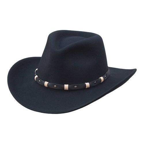 60162dce822 Shop Black Creek BC2037 Wool Cowboy Hat Black - On Sale - Free Shipping  Today - Overstock - 20754916