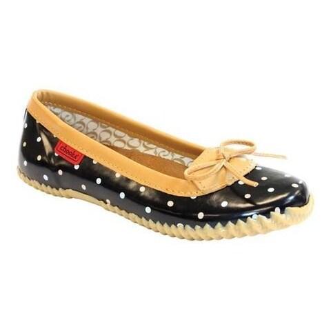 Women's Chooka Classic Dot Duck Skimmer Black