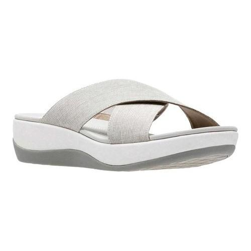 a9e97486f Shop Women s Clarks Arla Elin Slide Sand Heather Textile - On Sale - Free  Shipping Today - Overstock - 20754936