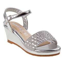 Girls' Kensie Girl KG71391M Wedge Sandal Silver