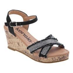 Girls' Kensie Girl KG79680M Wedge Sandal Black