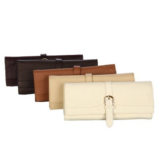 Amerileather Leather Jewelry Roll