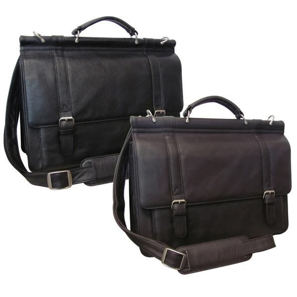 Amerileather Dowel Rod Briefcase