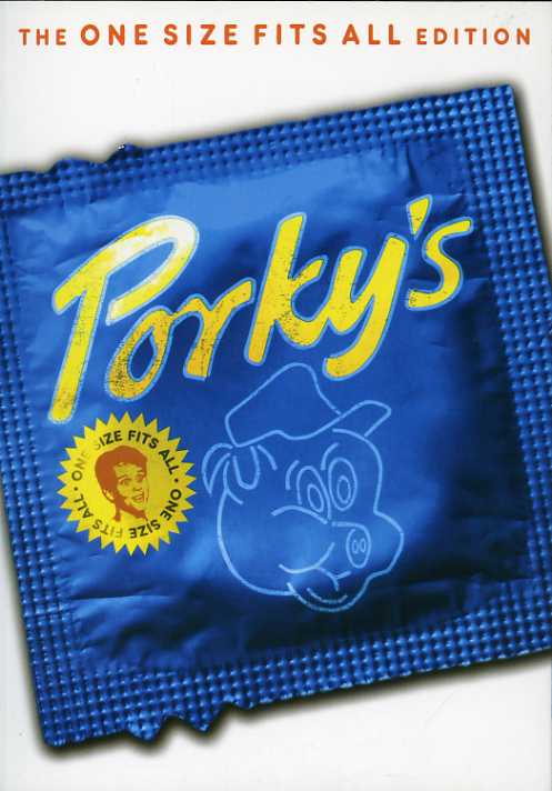 Porky's One Size Fits All Edition (DVD)
