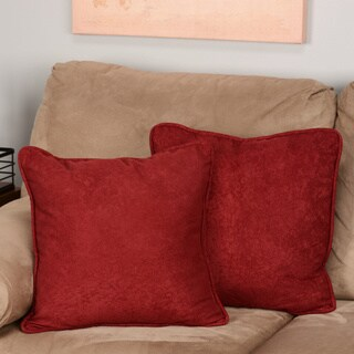 Ultimate Faux Suede Throw Pillows (Set of 2)