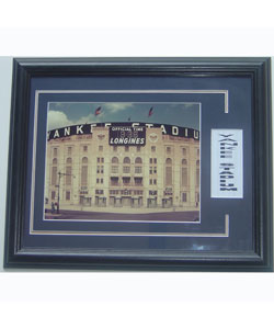 Yankee Stadium 'The House that Ruth Built' Deluxe Framed Print
