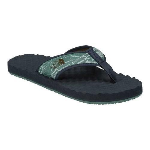 The North Face Base Camp Flip Flop - Men's Casual - Smoke Pine Needle/Beech Green ABPE4CM