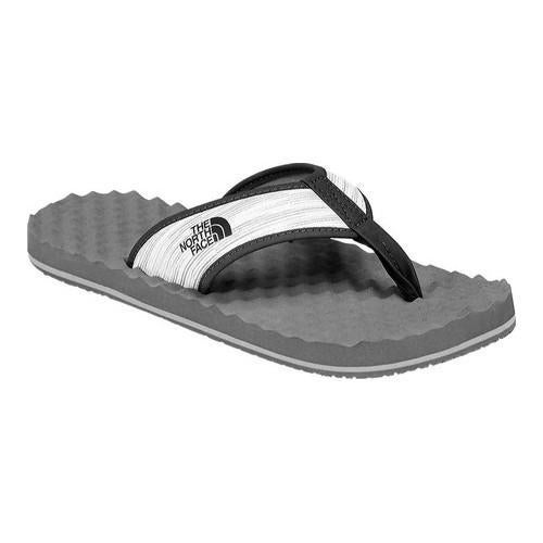 835a2cd921ee5 Shop Men s The North Face Base Camp Flip-Flop Zinc Grey Wind  Print Weathered Black - Free Shipping On Orders Over  45 - Overstock -  20815170