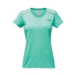 Women's The North Face Adventuress Tee Pool Green Heather